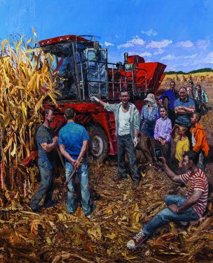 第十三届全国美展·油画作品展595幅 (全部)插图411