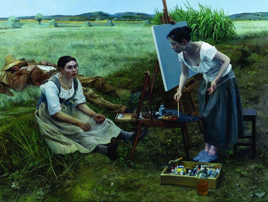 第十三届全国美展·油画作品展595幅 (全部)插图424