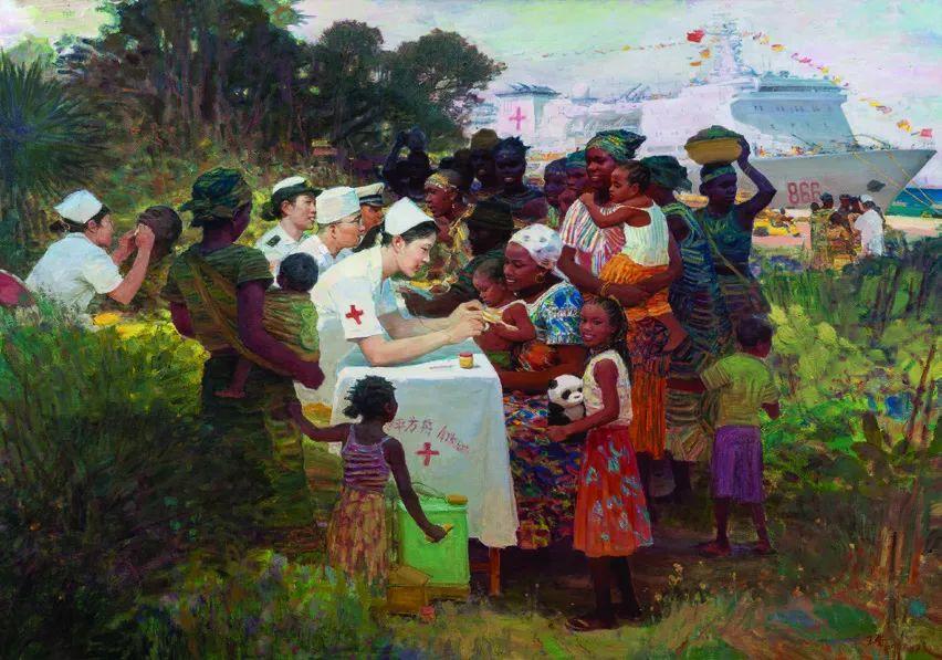 第十三届全国美展·油画作品展595幅 (全部)插图425