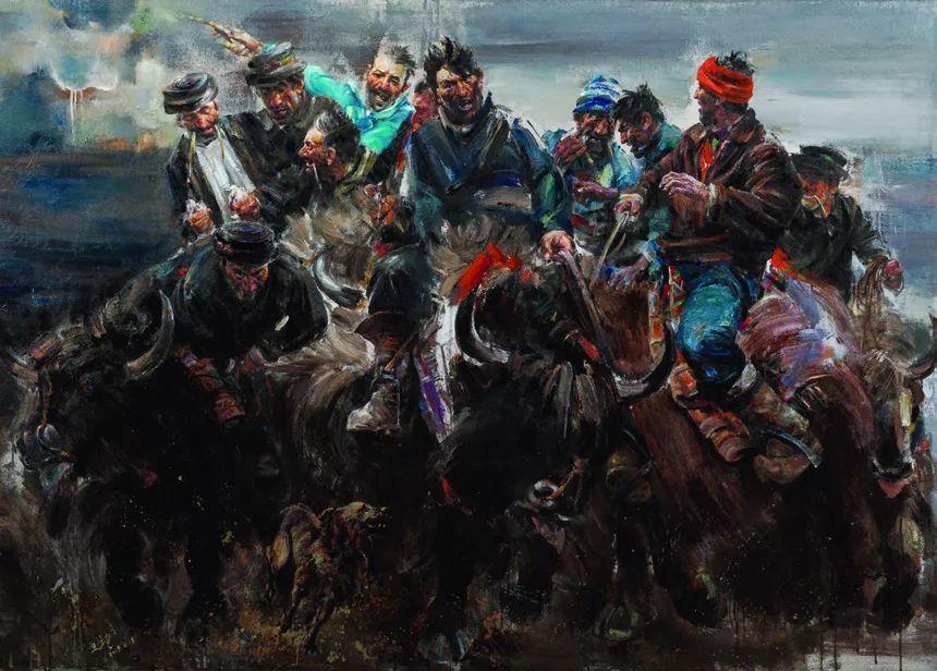 第十三届全国美展·油画作品展595幅 (全部)插图433