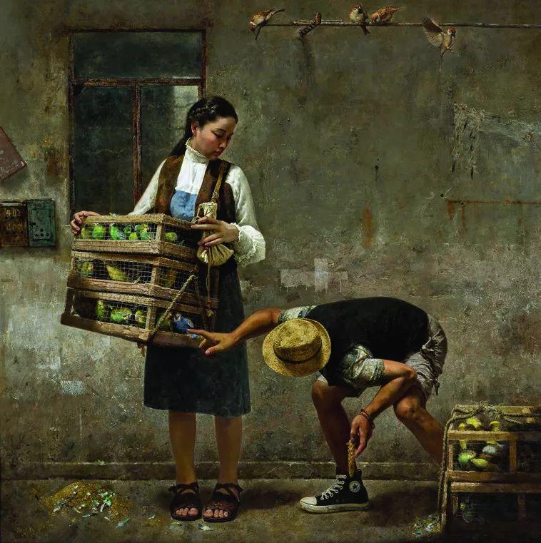 第十三届全国美展·油画作品展595幅 (全部)插图434