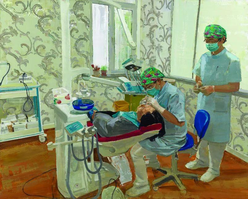 第十三届全国美展·油画作品展595幅 (全部)插图437