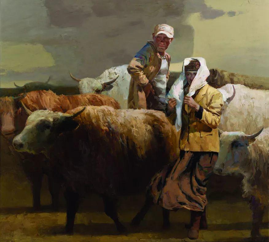 第十三届全国美展·油画作品展595幅 (全部)插图441