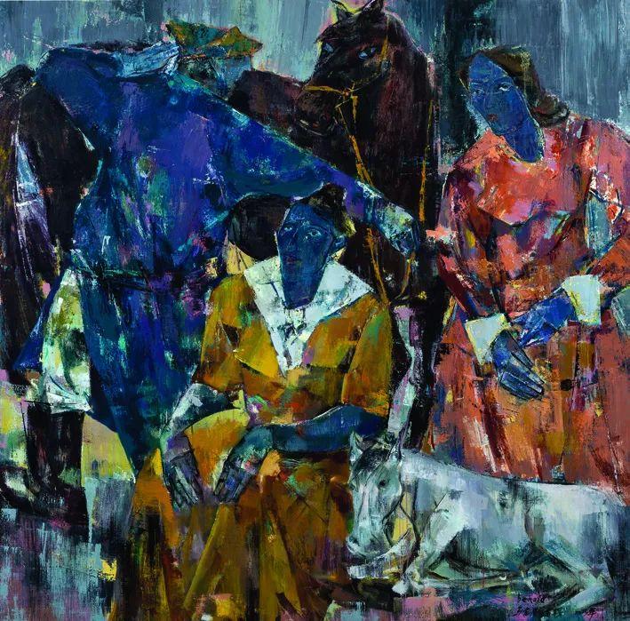 第十三届全国美展·油画作品展595幅 (全部)插图449