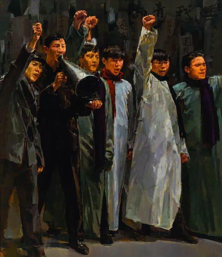 第十三届全国美展·油画作品展595幅 (全部)插图450