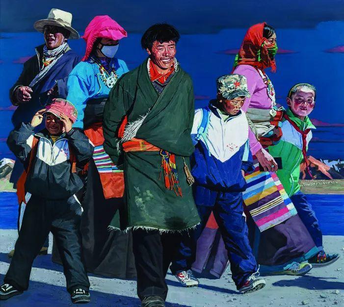 第十三届全国美展·油画作品展595幅 (全部)插图455