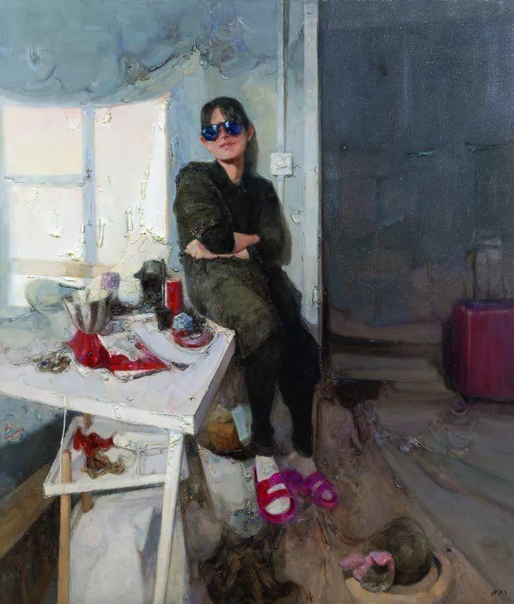 第十三届全国美展·油画作品展595幅 (全部)插图462