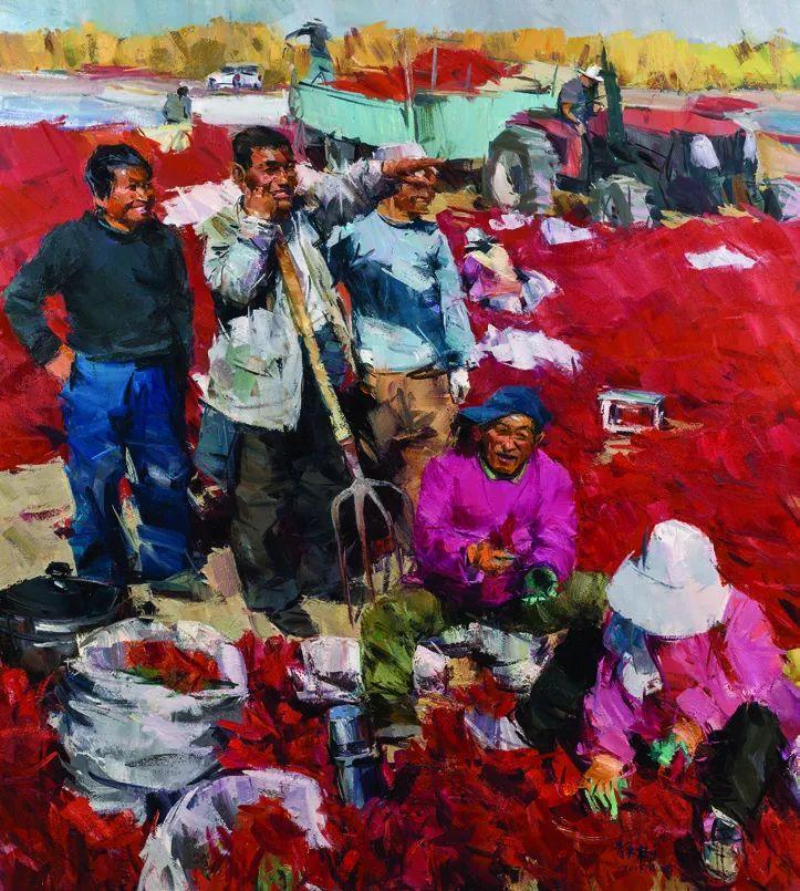 第十三届全国美展·油画作品展595幅 (全部)插图465