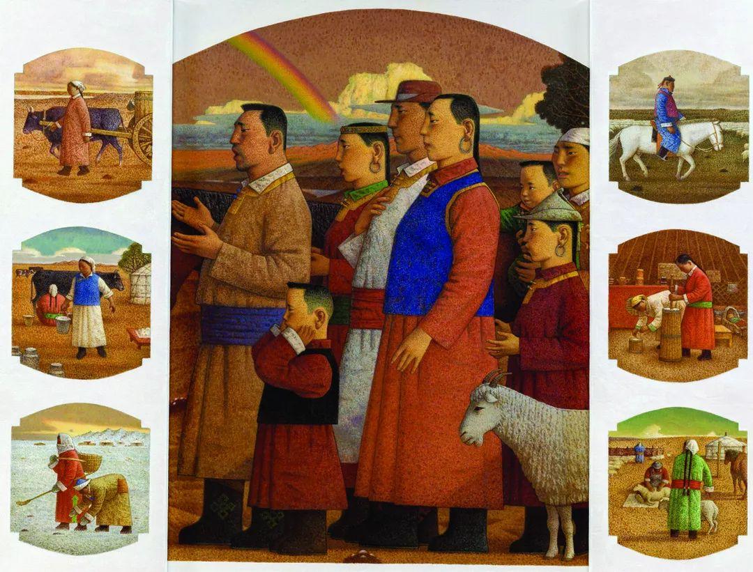 第十三届全国美展·油画作品展595幅 (全部)插图468
