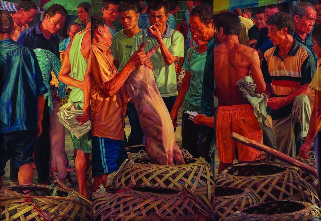 第十三届全国美展·油画作品展595幅 (全部)插图471