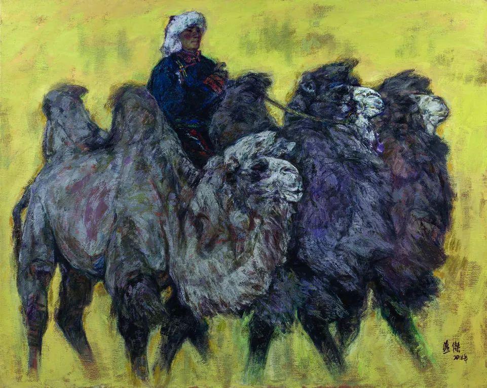 第十三届全国美展·油画作品展595幅 (全部)插图486