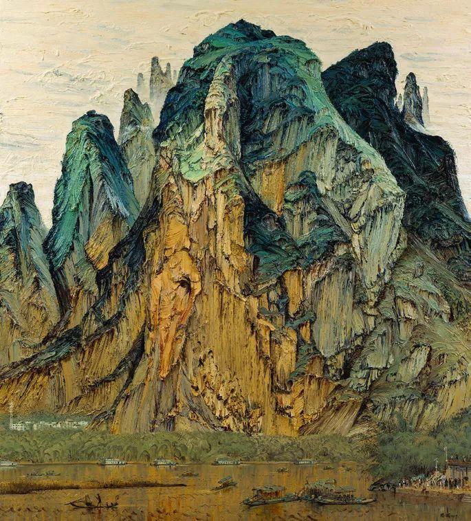 第十三届全国美展·油画作品展595幅 (全部)插图487