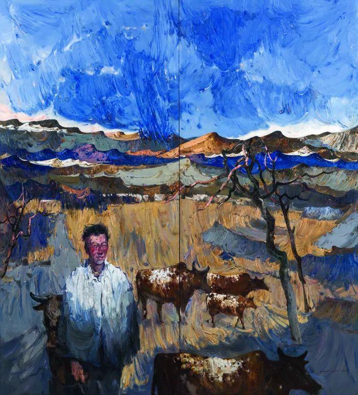 第十三届全国美展·油画作品展595幅 (全部)插图496