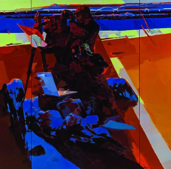 第十三届全国美展·油画作品展595幅 (全部)插图499