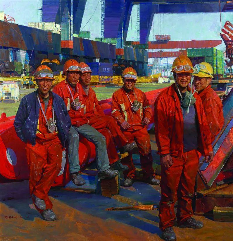 第十三届全国美展·油画作品展595幅 (全部)插图506
