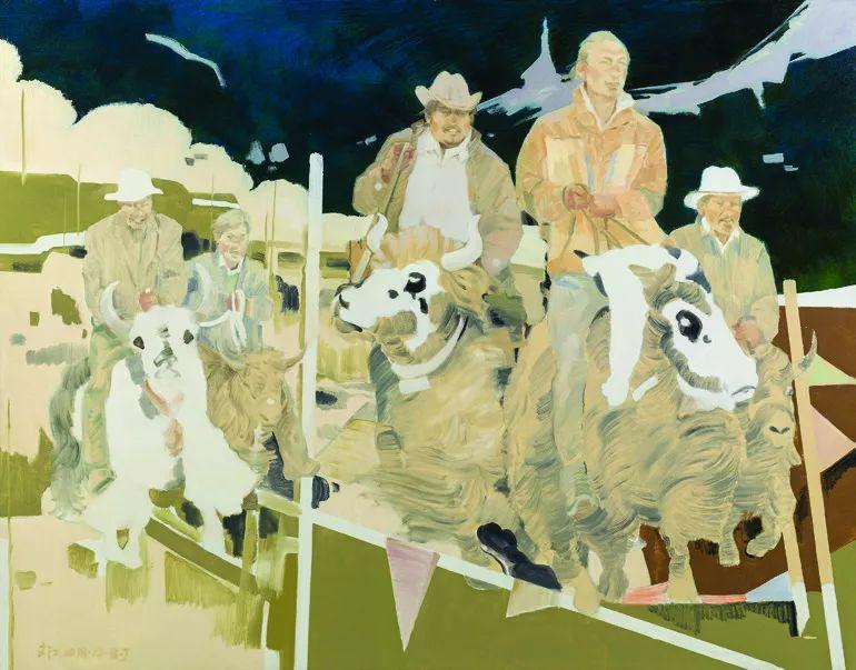 第十三届全国美展·油画作品展595幅 (全部)插图523