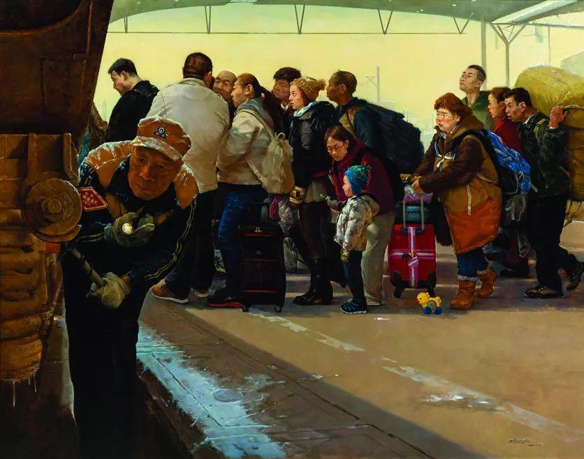第十三届全国美展·油画作品展595幅 (全部)插图531