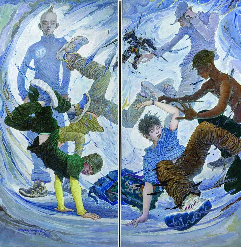第十三届全国美展·油画作品展595幅 (全部)插图532