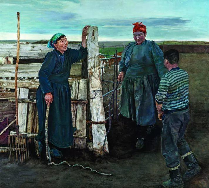 第十三届全国美展·油画作品展595幅 (全部)插图549