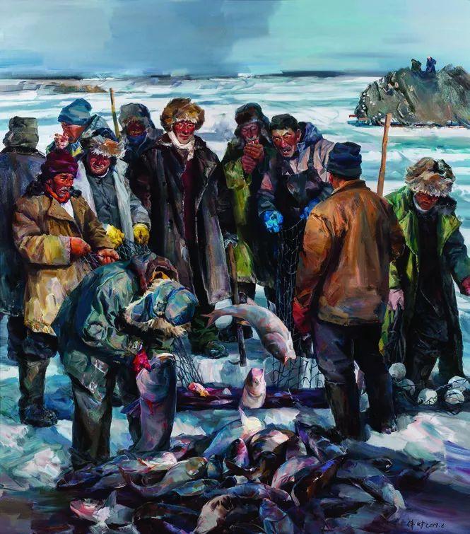 第十三届全国美展·油画作品展595幅 (全部)插图552
