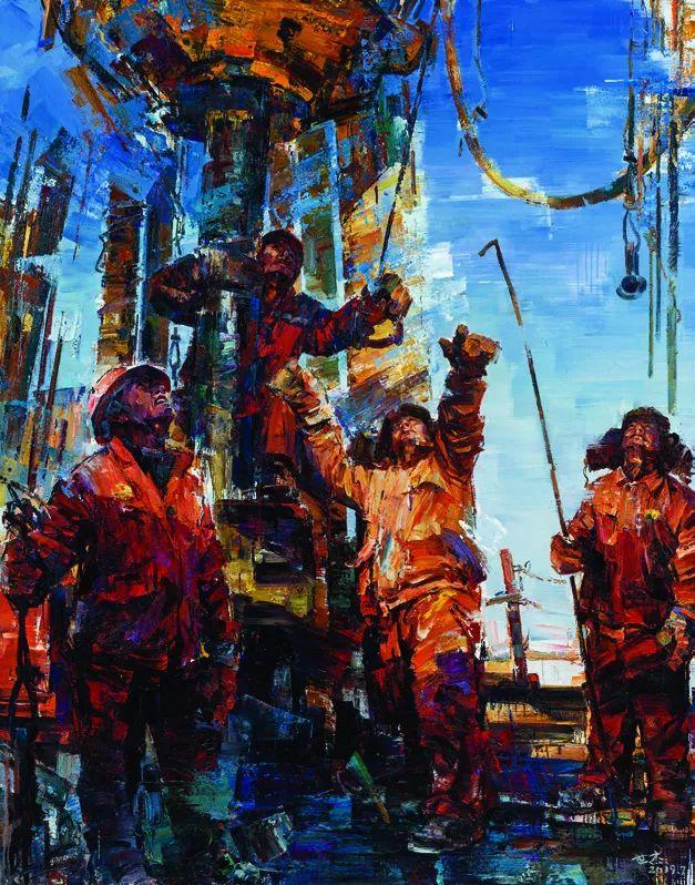 第十三届全国美展·油画作品展595幅 (全部)插图569