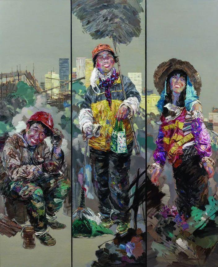 第十三届全国美展·油画作品展595幅 (全部)插图577