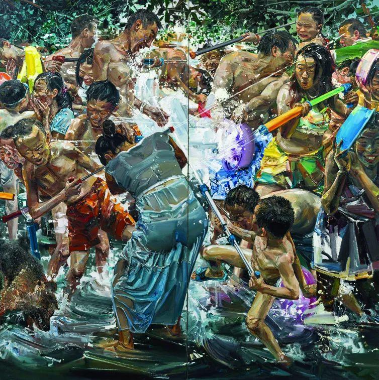 第十三届全国美展·油画作品展595幅 (全部)插图584