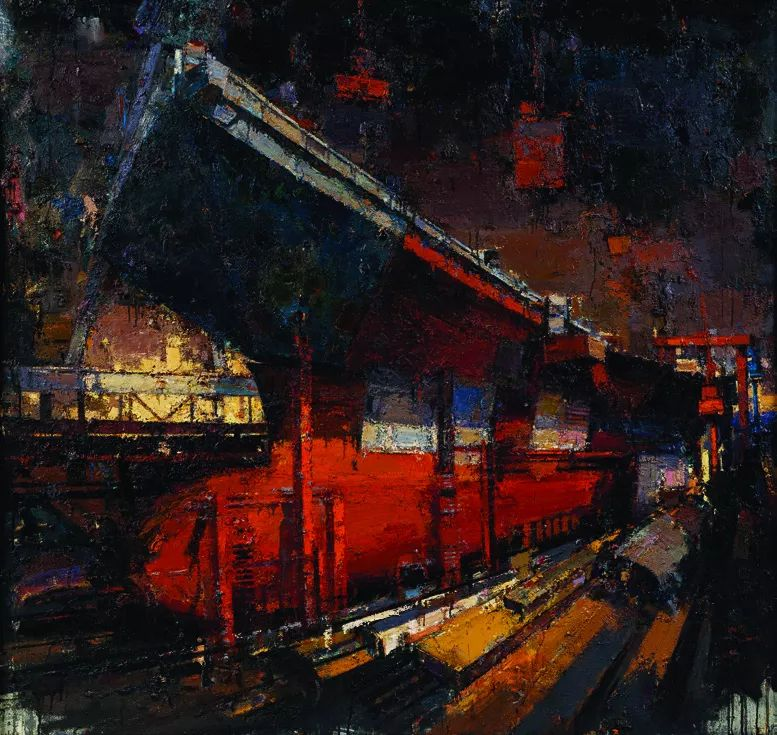 第十三届全国美展·油画作品展595幅 (全部)插图585