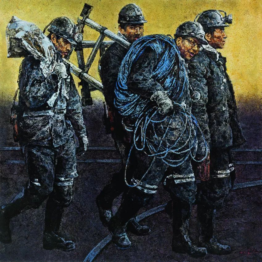 第十三届全国美展·油画作品展595幅 (全部)插图587
