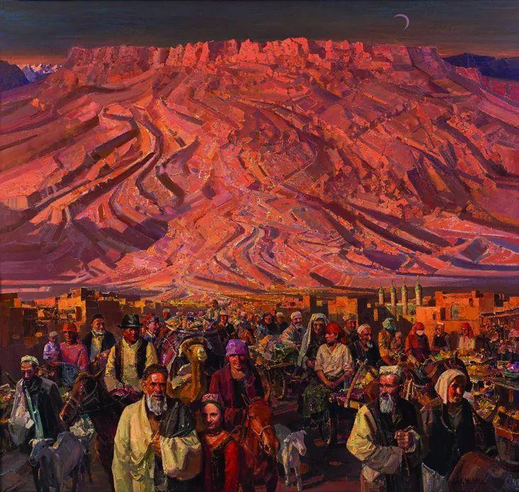 第十三届全国美展·油画作品展595幅 (全部)插图597