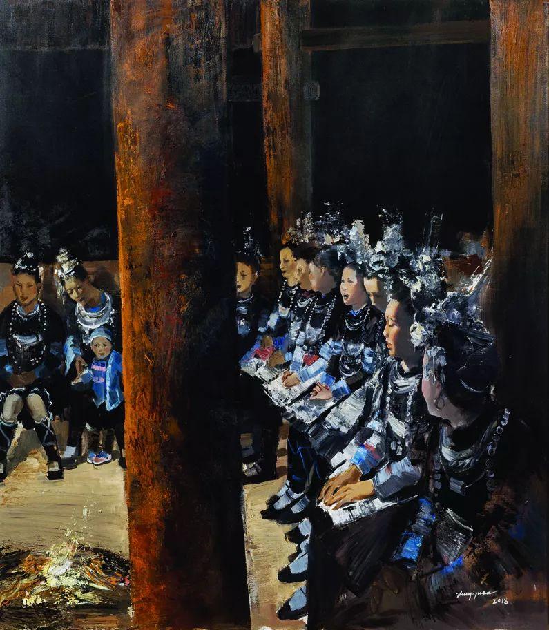 第十三届全国美展·油画作品展595幅 (全部)插图598