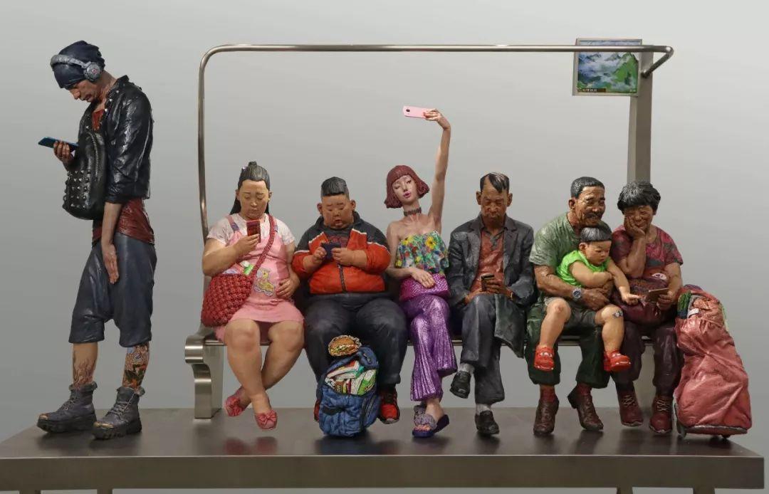 第十三届全国美展·雕塑作品展插图39