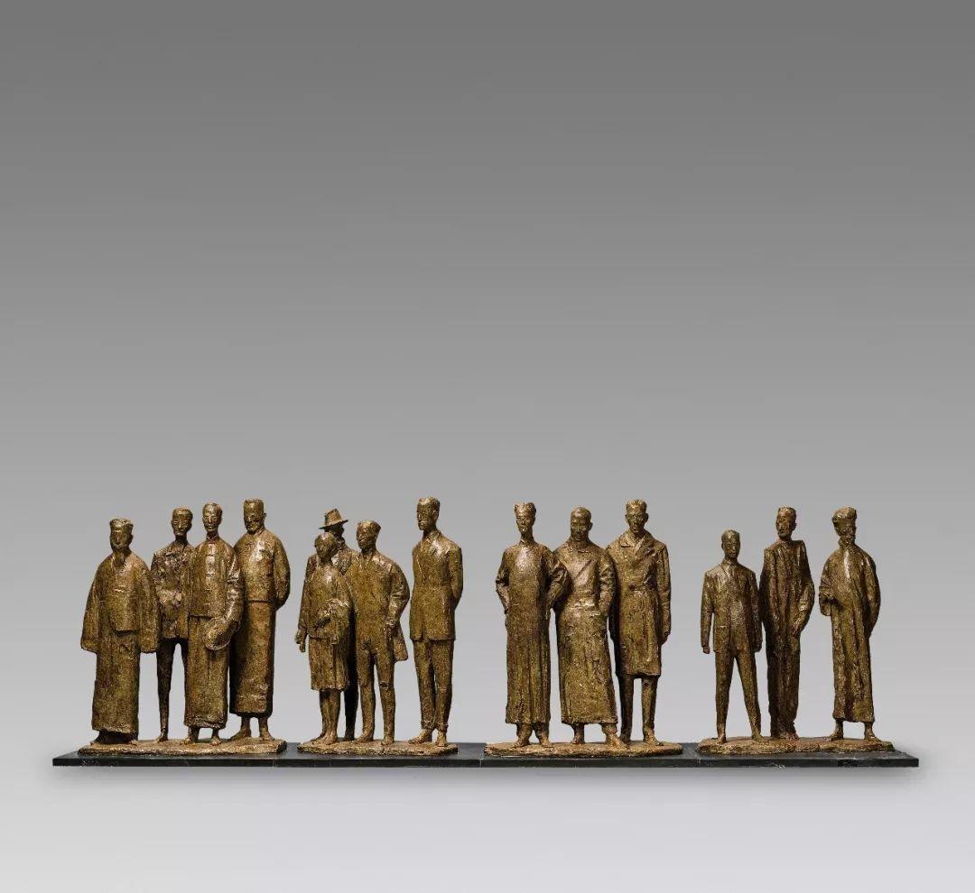 第十三届全国美展·雕塑作品展插图53