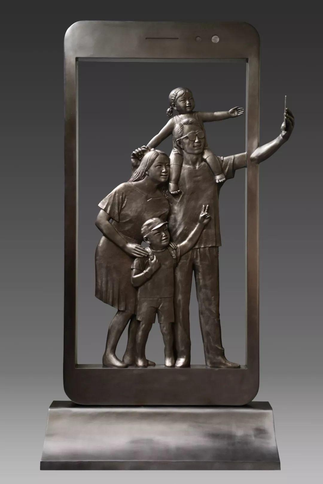 第十三届全国美展·雕塑作品展插图67