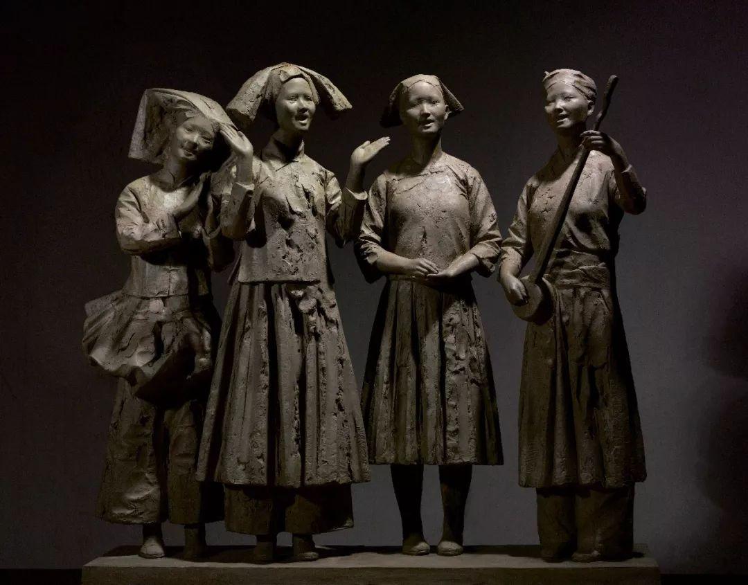 第十三届全国美展·雕塑作品展插图71