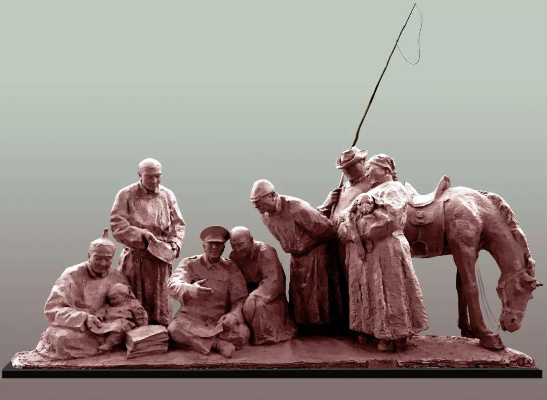 第十三届全国美展·雕塑作品展插图79