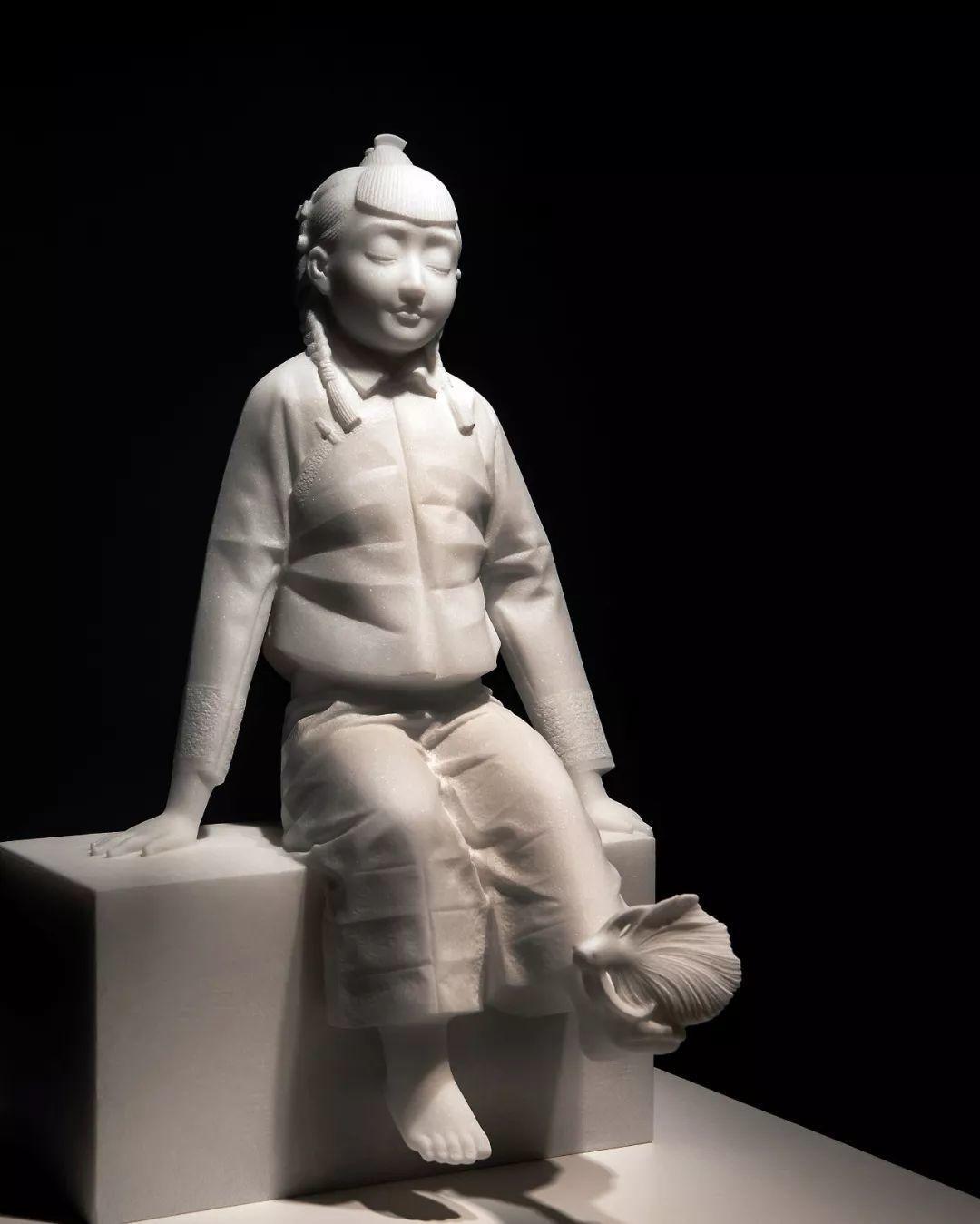 第十三届全国美展·雕塑作品展插图93