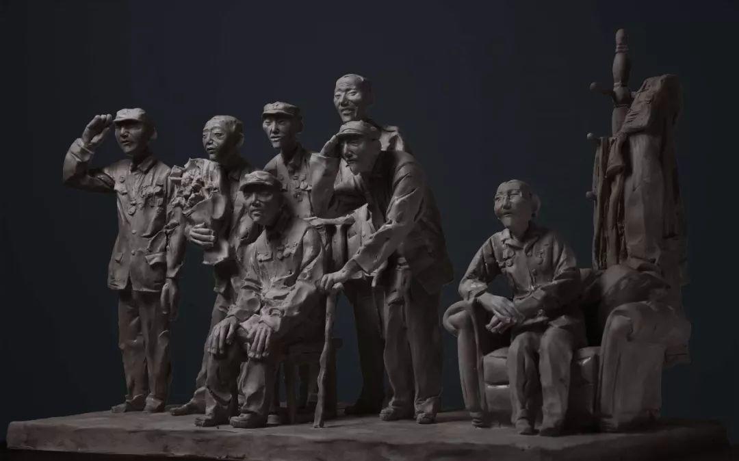 第十三届全国美展·雕塑作品展插图119