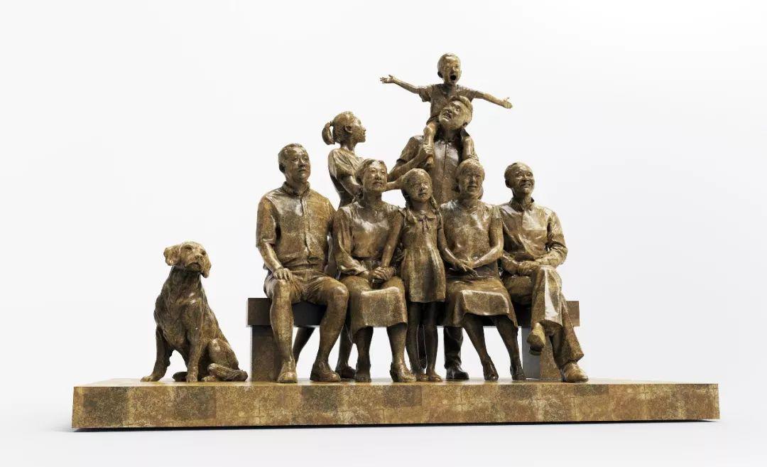 第十三届全国美展·雕塑作品展插图125