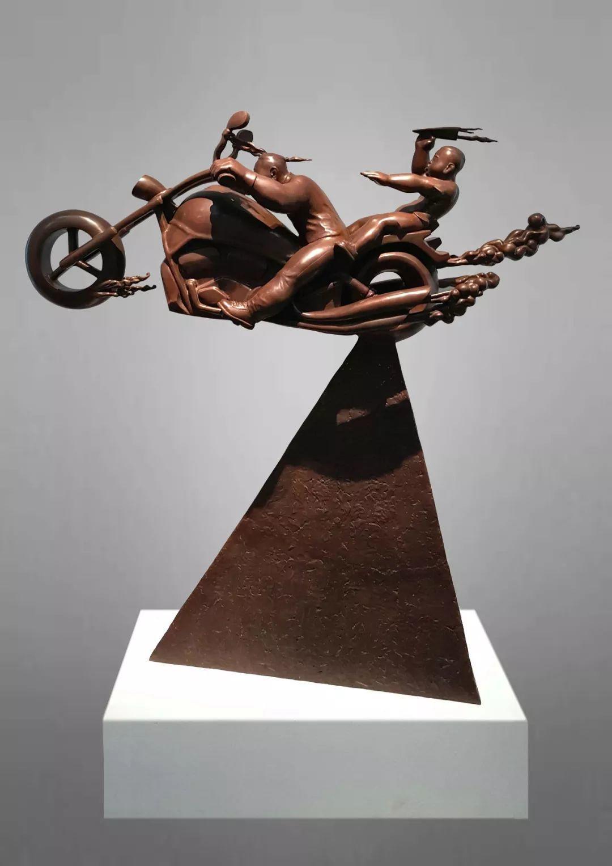 第十三届全国美展·雕塑作品展插图127
