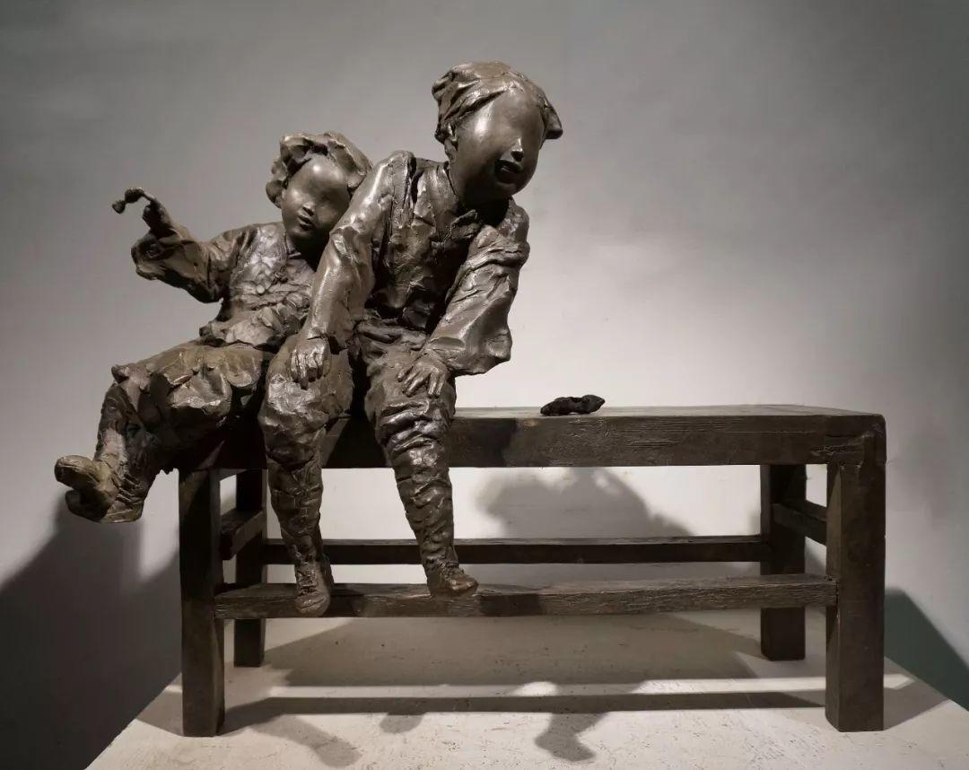 第十三届全国美展·雕塑作品展插图137