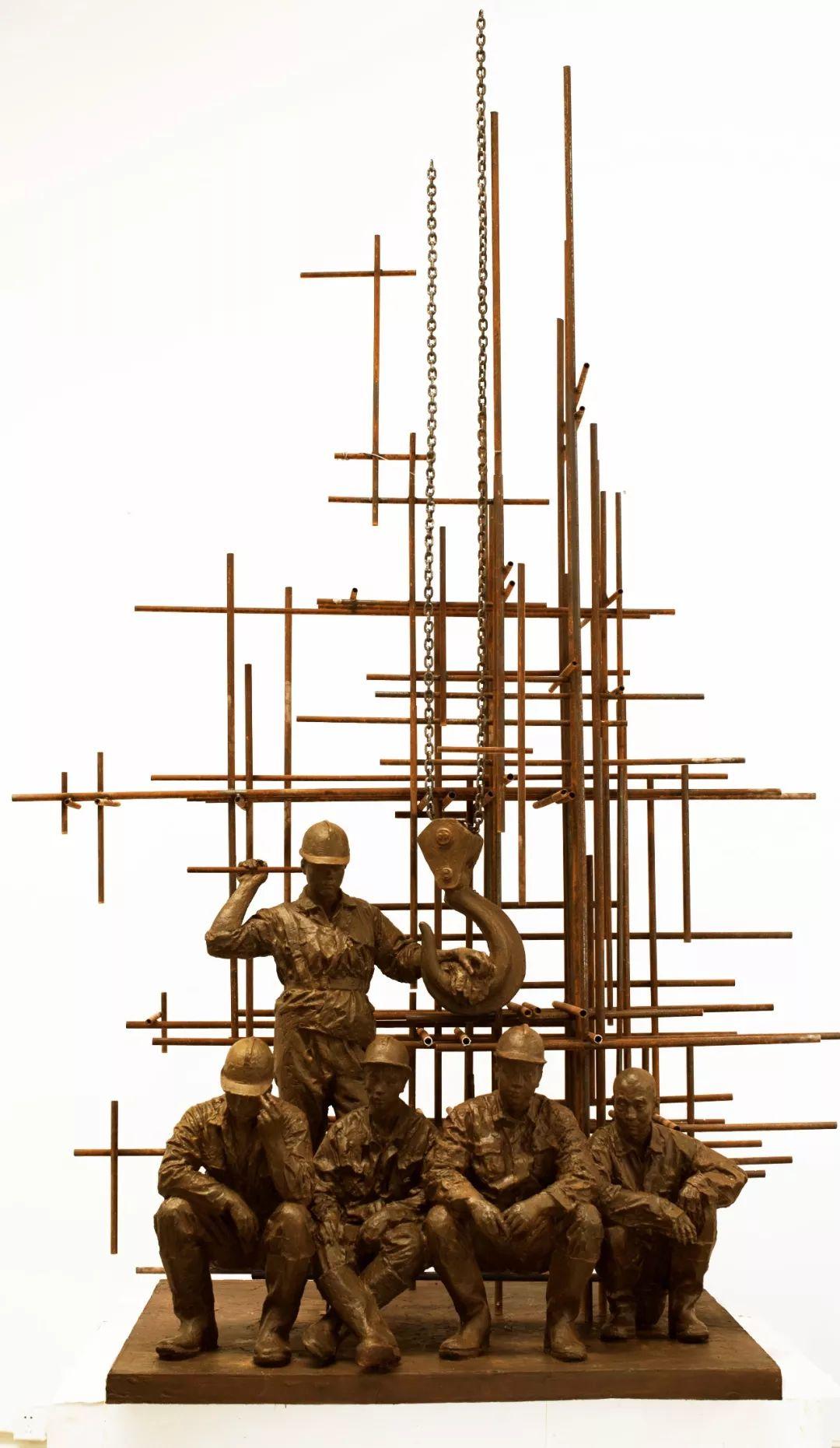 第十三届全国美展·雕塑作品展插图145