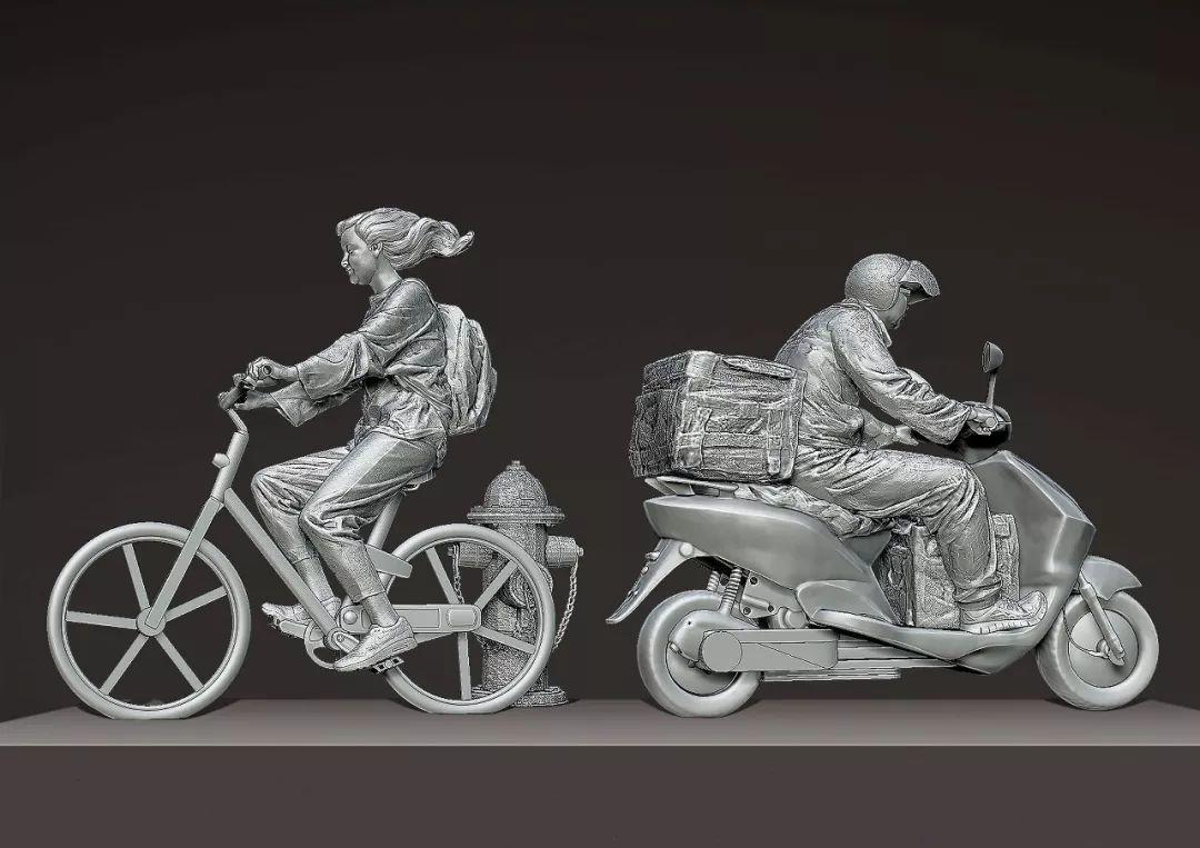 第十三届全国美展·雕塑作品展插图159