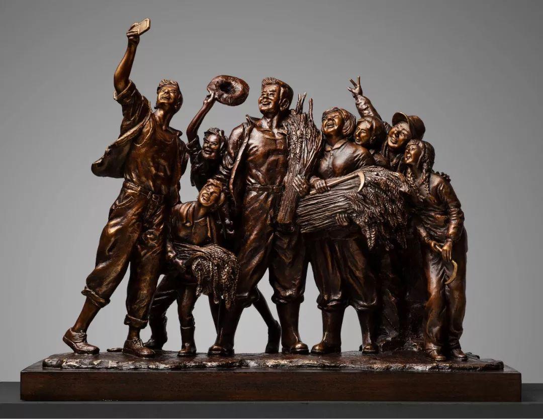 第十三届全国美展·雕塑作品展插图173