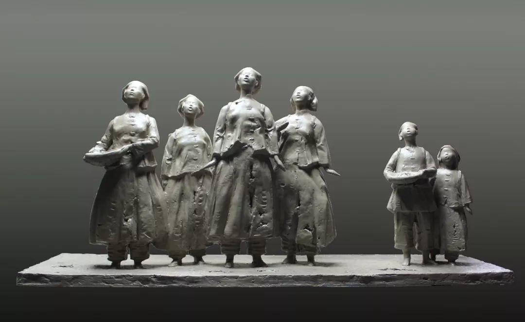 第十三届全国美展·雕塑作品展插图187