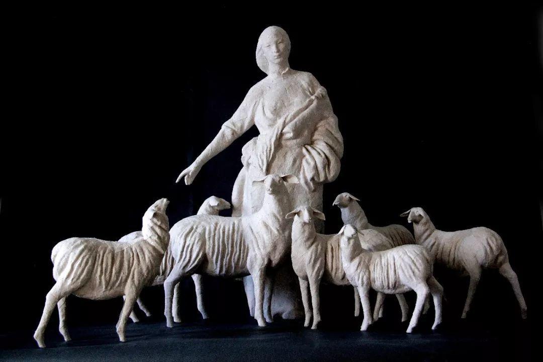 第十三届全国美展·雕塑作品展插图195
