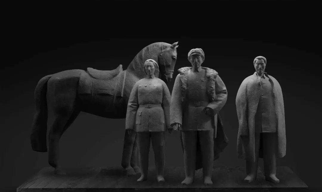 第十三届全国美展·雕塑作品展插图219