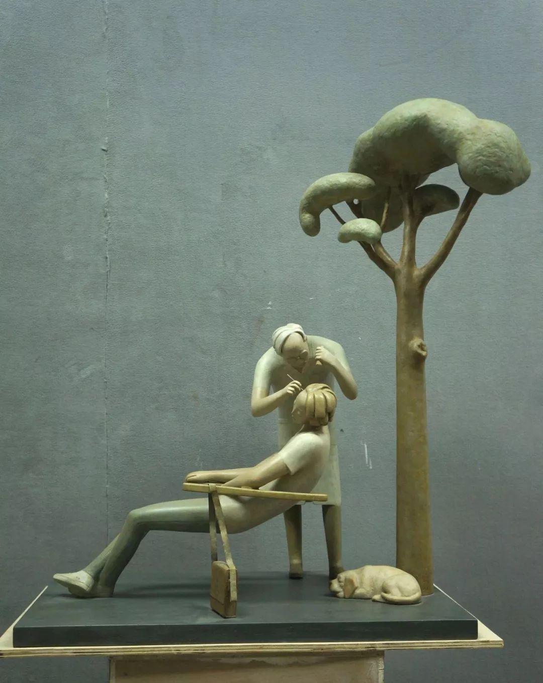 第十三届全国美展·雕塑作品展插图247