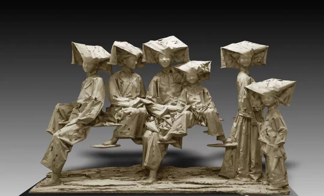 第十三届全国美展·雕塑作品展插图259