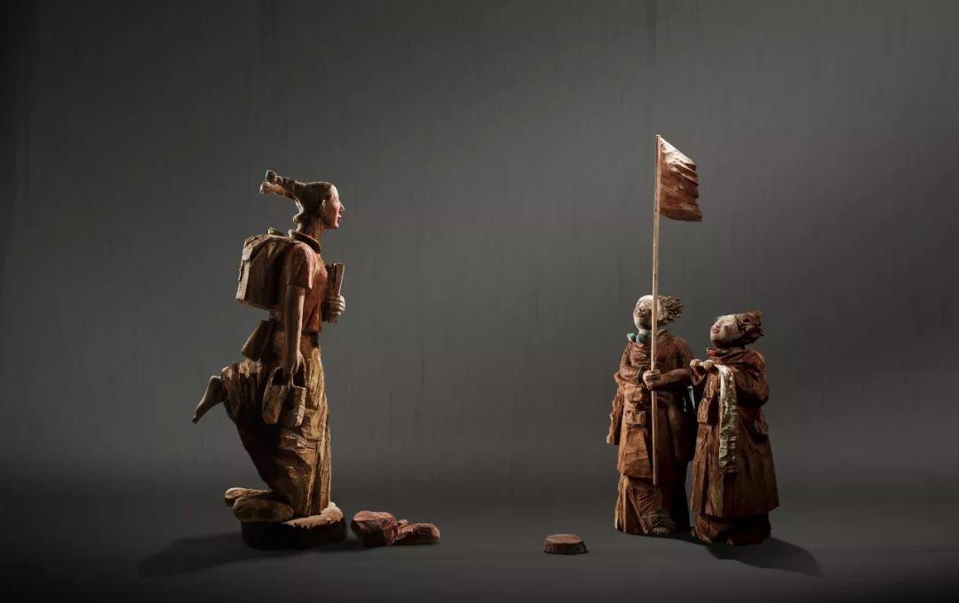 第十三届全国美展·雕塑作品展插图261